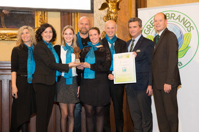 Award GREEN BRANDS Biogena
